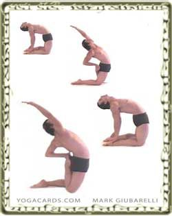 vinyasa yoga cards that can be printed and used to help