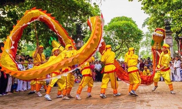 lễ hội đèn lồng của hôi an