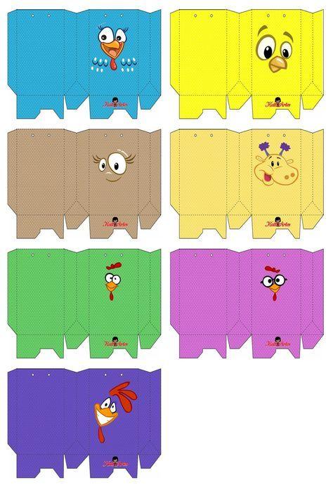 favor box gallina pintadita  3a5c7227962cb
