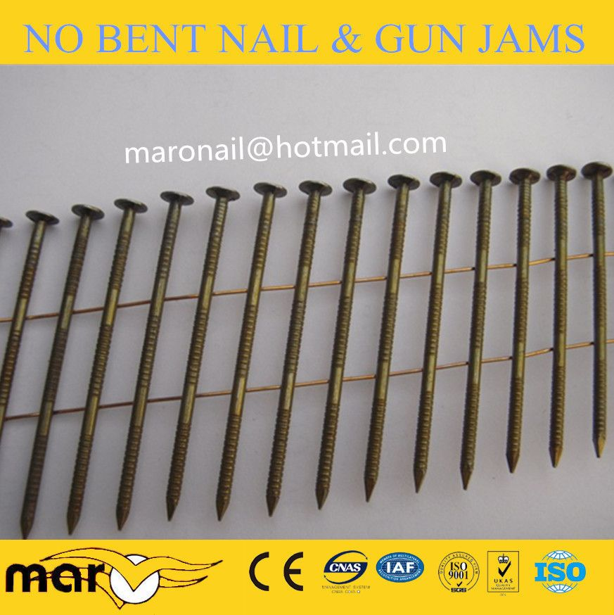 15 Degree Coil Nails Roofing Nails Coil Framing Nails