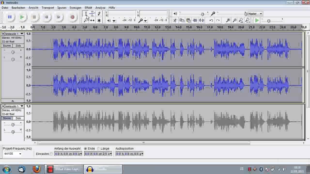 Audacity Tutorial: Audio optimieren, Rauschenfernung, Kompressor, HowTo