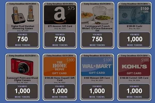 redeem tokens to win prizes from PCH Redemption Center | PCH