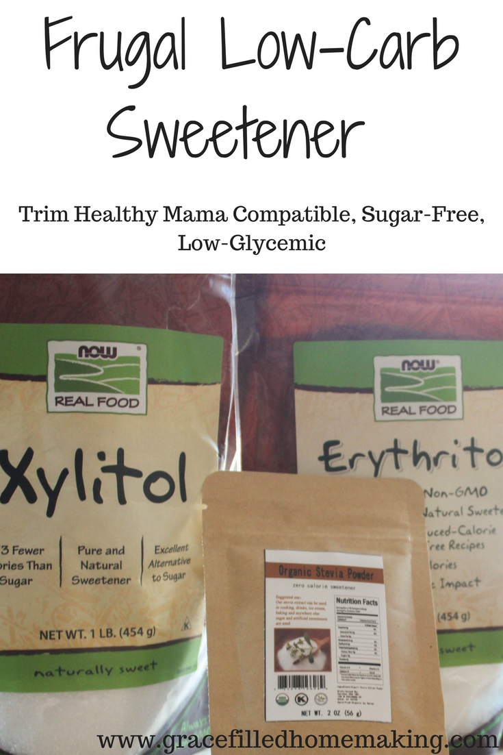 Frugal Low-Carb Sweetener Mix (THM-Compatible, Low-Glycemic, Frugal!)