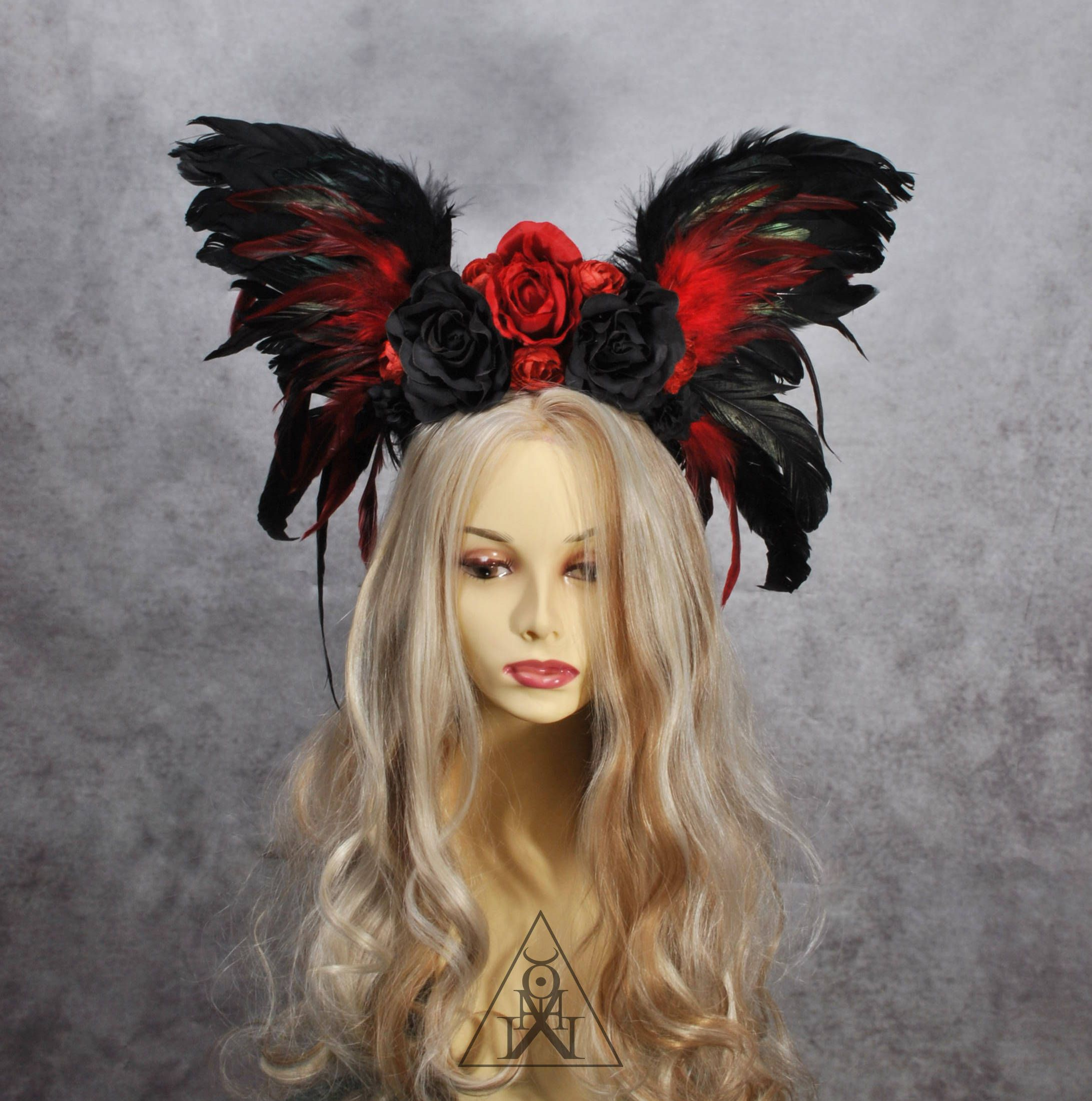 3cafbcba7 MyWitchery | D&d | Feather headpiece, Gothic, Headpiece