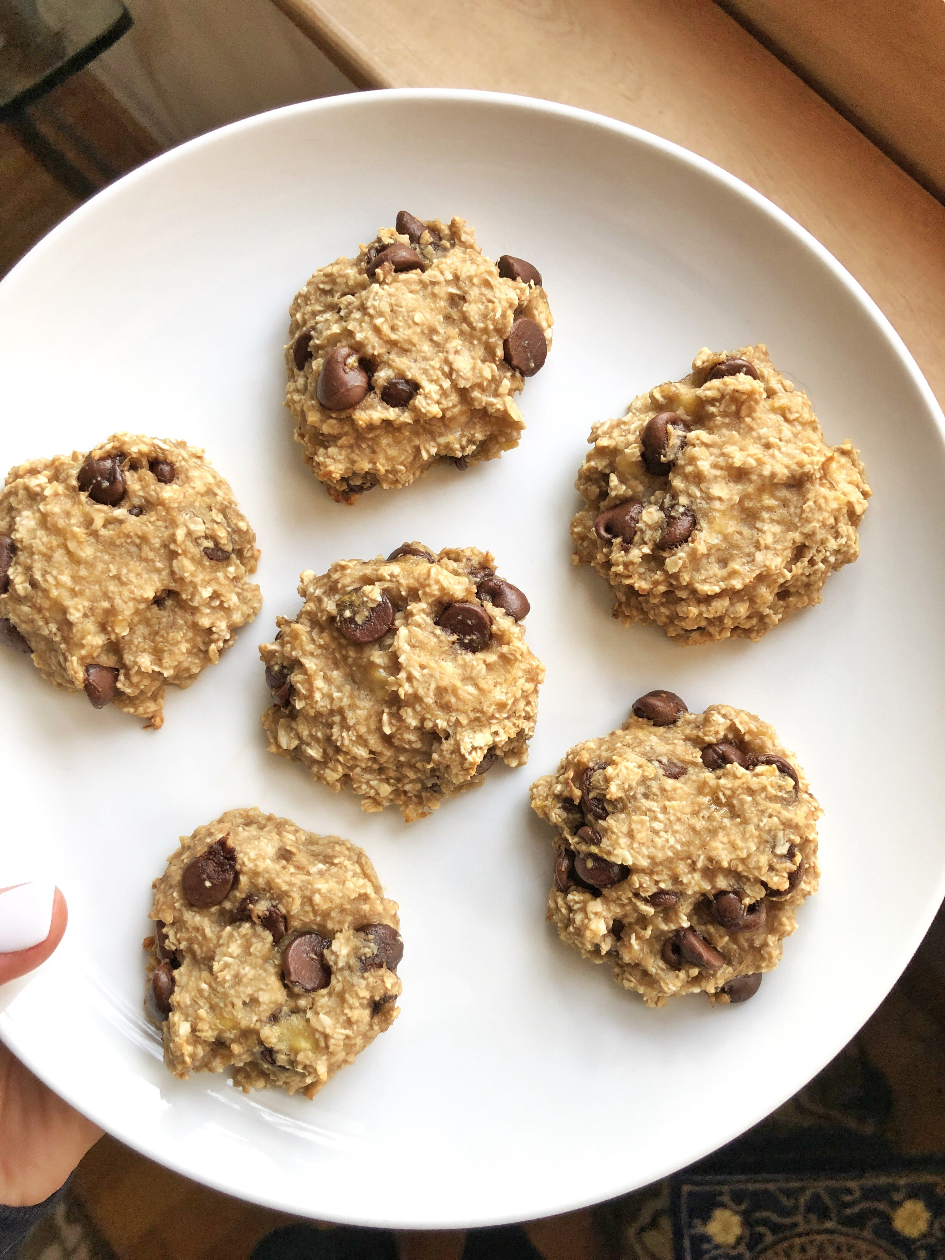 4 ingredient cookies that are dairy free refined sugar