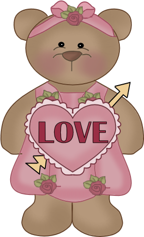 C12 Valentine Bears Bear Valentines Valentines Day Bears Bear Clip Art