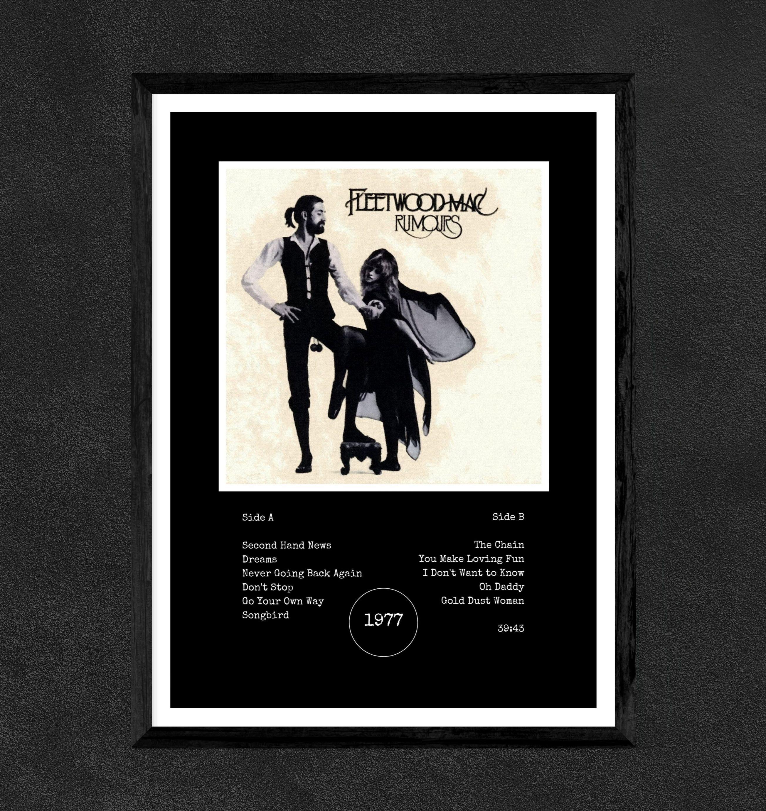 fleetwood mac rumours poster