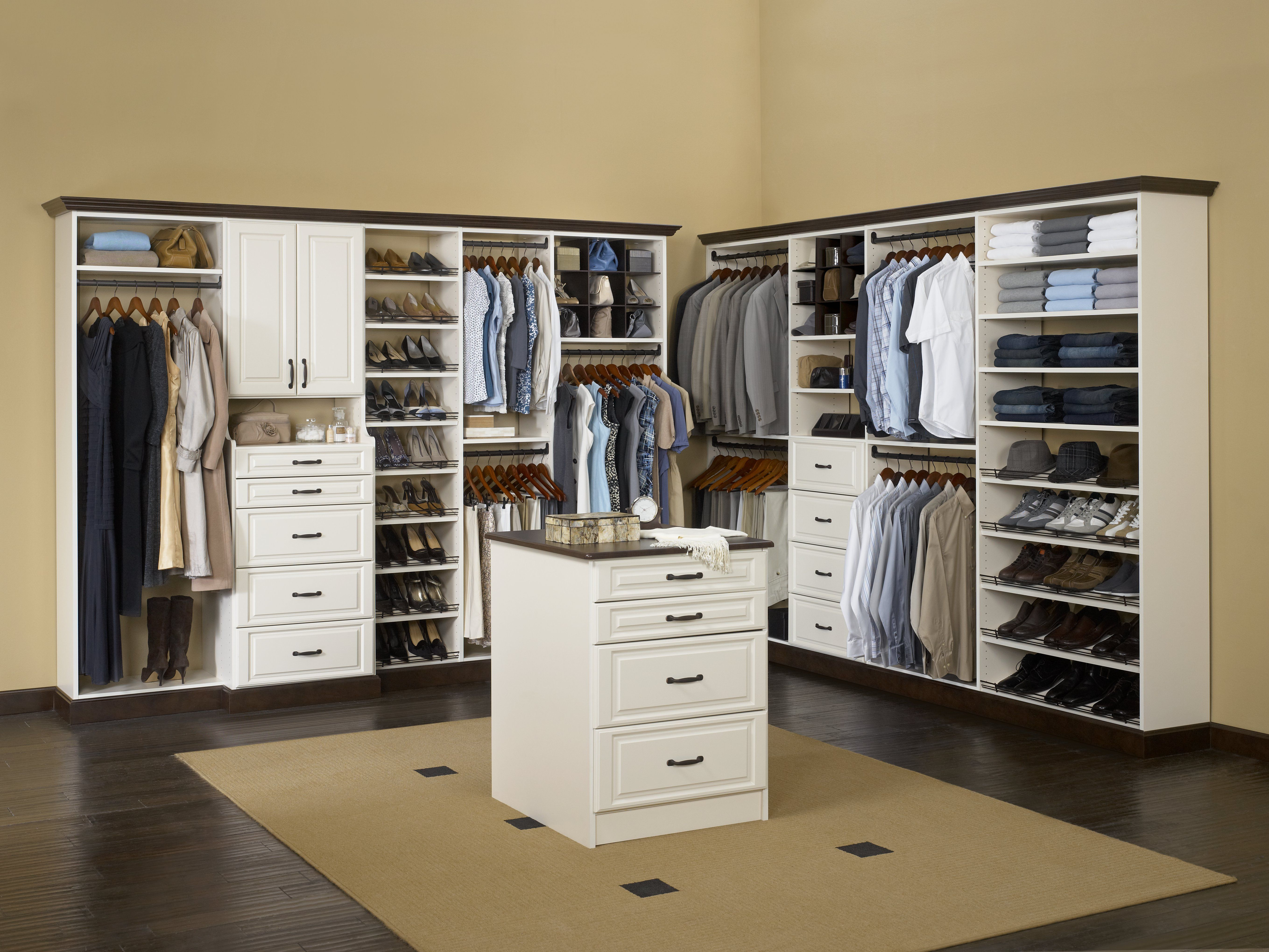 Rubbermaid Custom Closet Systems Available Online On Showroom Partners America S Online Buildi Home Depot Closet Organizer Small Closet Room Home Depot Closet