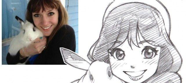 Dessiner Votre Portrait En Style Manga En 2019 Dessin