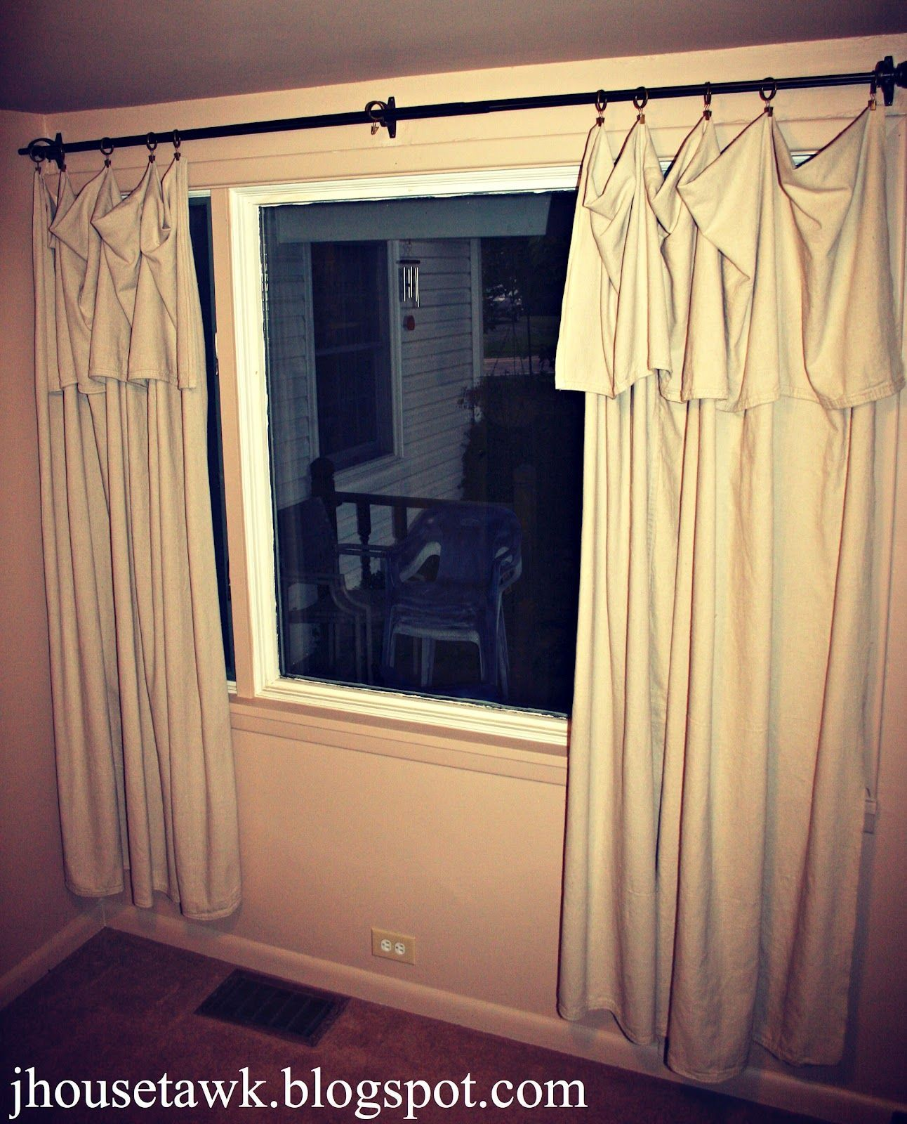 Kitchen window no trim  j house tawk drop cloth curtains big lots curtainsideaselegant