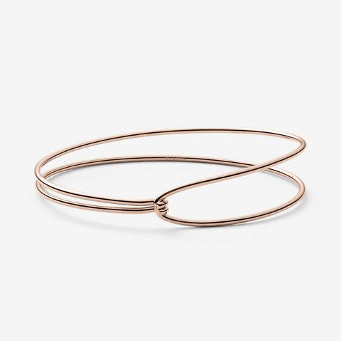 Anette Rose Gold Tone Bangle Skagen Free Shipping Accessories Pinterest And