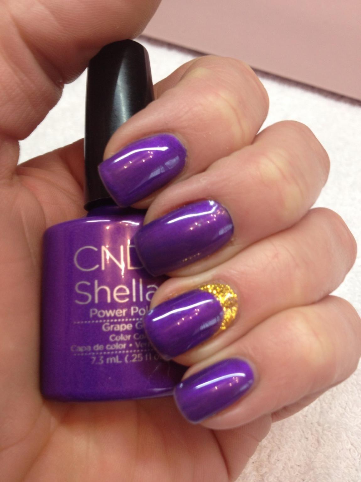 Shellac Colors 2013 Grape Gum Colors Shellac
