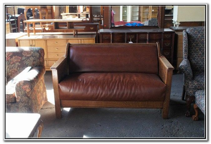 Antique Mission Style Loveseat Love Seat Mission Style House