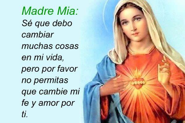 Imágenes de la Virgen María con Frases (13) | Blessed mother, Mother mary,  Jesus mother