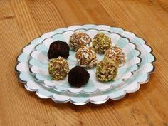 """Cookie Truffles (Christmas Cookie Swap Party!) - Jeff Mauro, """"The Kitchen"""" on the Food Network."""