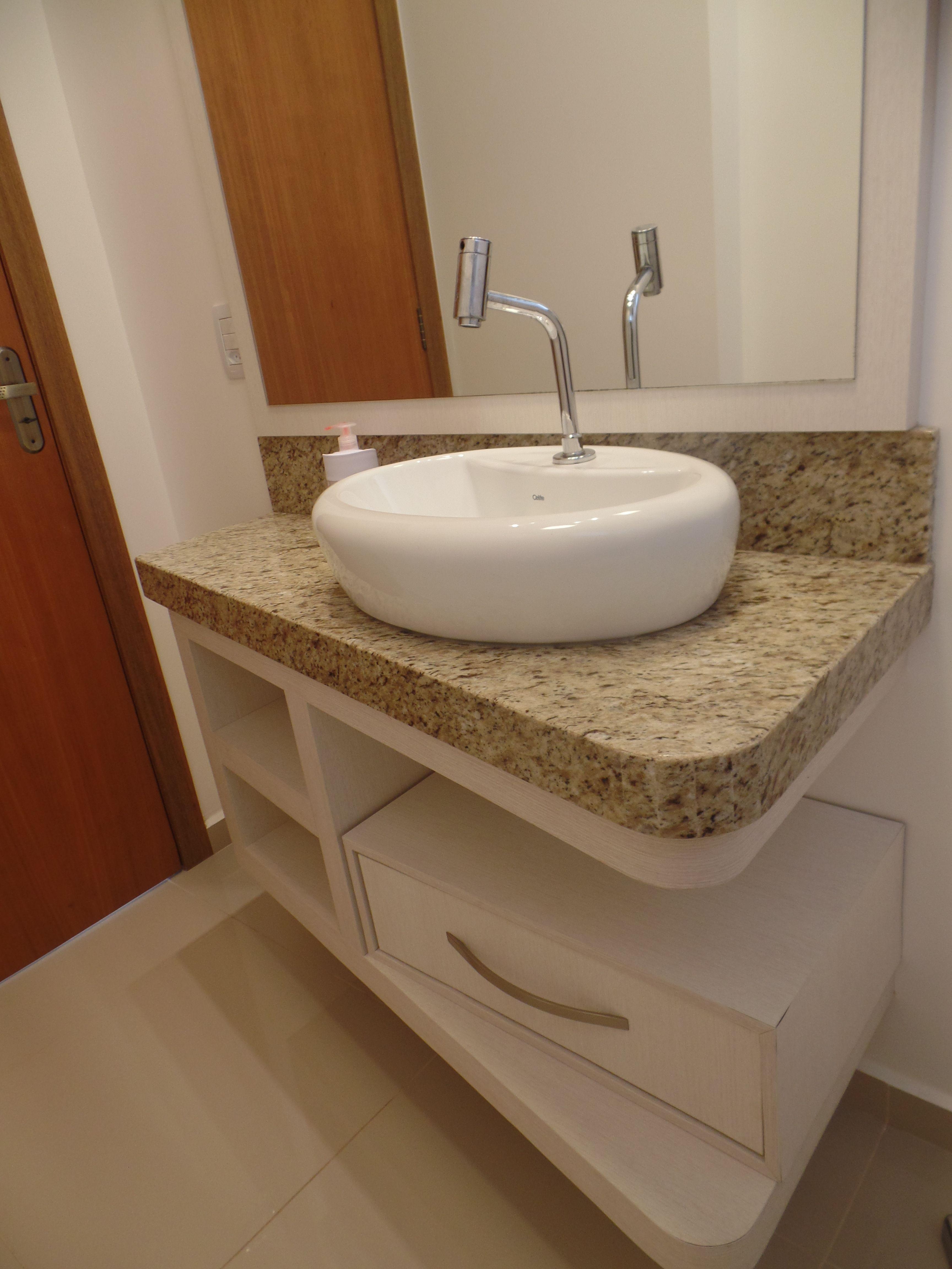 Bancada De Banheiro Em Granito Ornamental Com Imagens Granito
