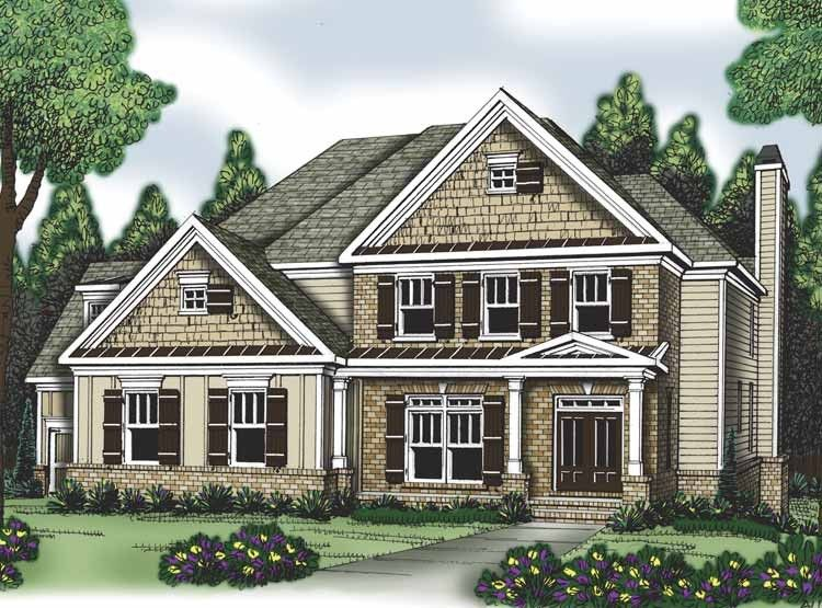 Eplans Traditional House Plan - Five Bedroom Traditional - 3191 Square Feet and 5 Bedrooms(s) from Eplans - House Plan Code HWEPL62887