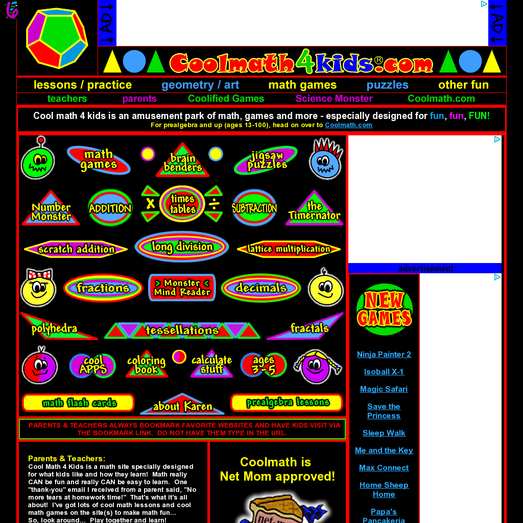 I love CoolMath4Kids.com! Website \'http://coolmath4kids.com ...