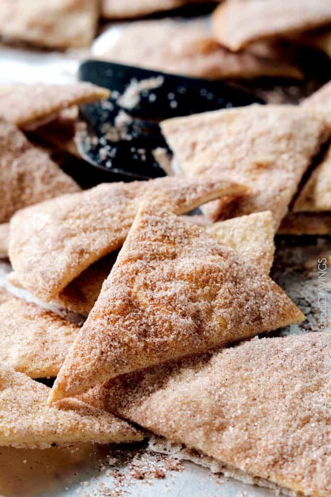 Baked Cinnamon Crisps Recipe (With images) | Cinnamon ...