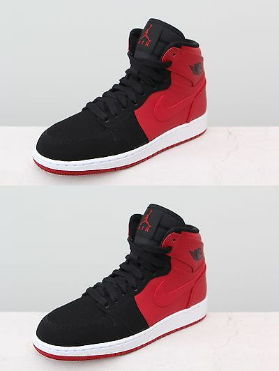 Boys Shoes 57929: 705300-605 Big Kids Air Jordan 1 Retro High Bg Gs