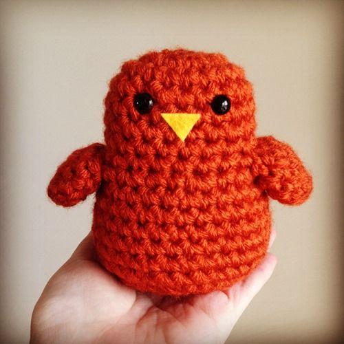 Walter the Fat Birdie ~free pattern   Crochet Amigurumi 2 ...