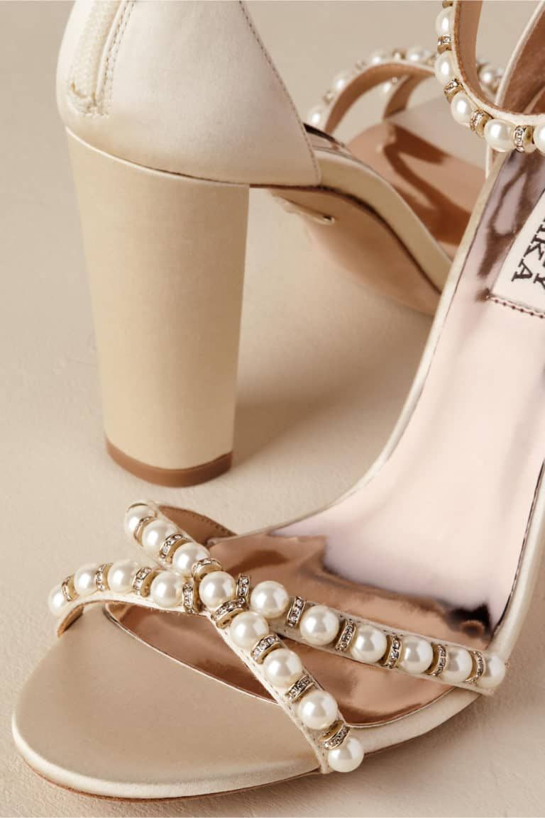 36++ Pearl wedding shoes for bride info