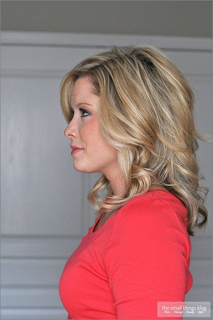 Emily Maynard curls and love the hair color!