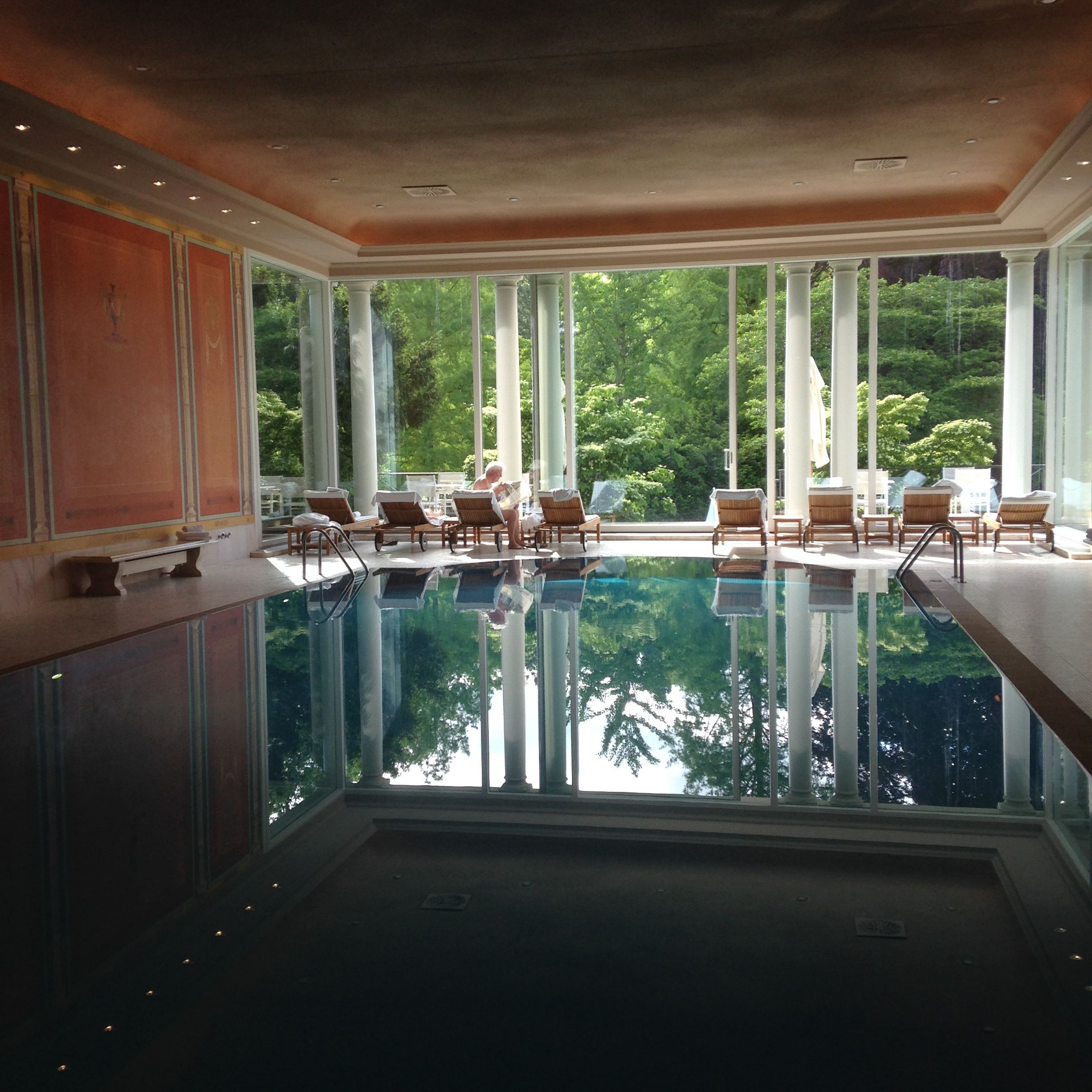 Delightful Brenners Park Hotel And Spa In Baden Baden, Germany. Luxury Spa Along The