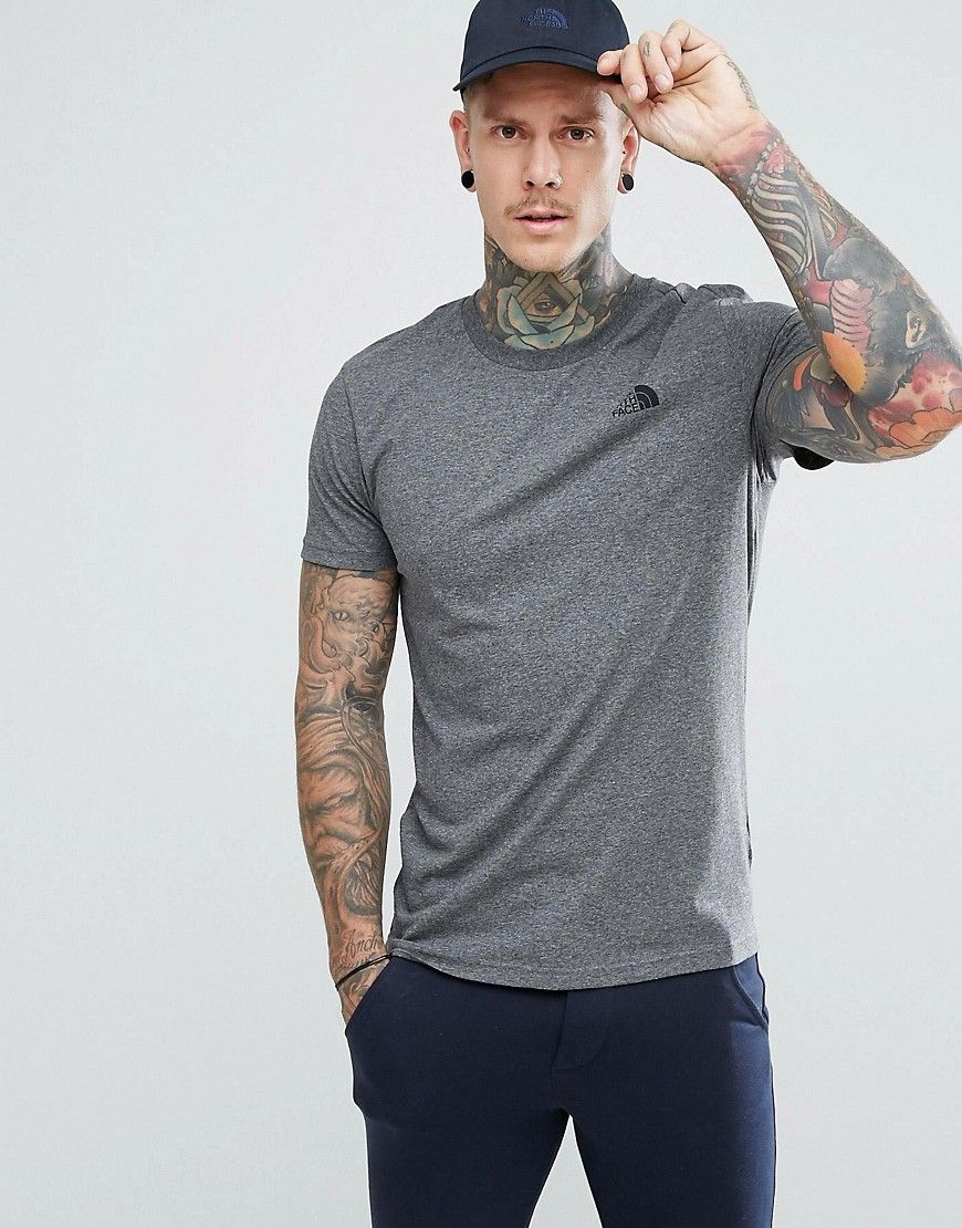 a544ad9a THE NORTH FACE SIMPLE DOME T-SHIRT IN GRAY - GRAY. #thenorthface #cloth #