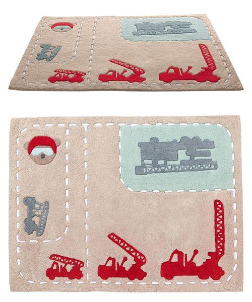 10 alfombras infantiles para jugar 5 alfombra tipo for Kinderzimmer deko feuerwehr