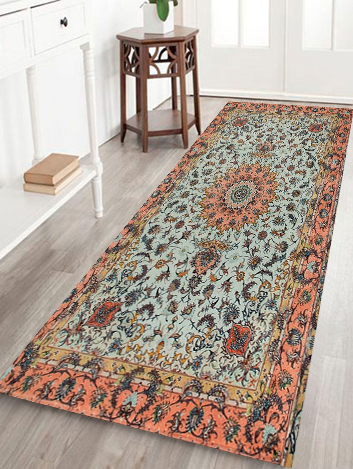 Persian Style Anti Skid Floor Area Rug Floor Area Rugs Rugs On