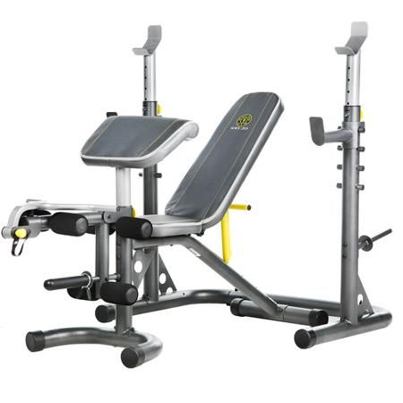 Beautiful Golds Gym Olympic Weight Bench
