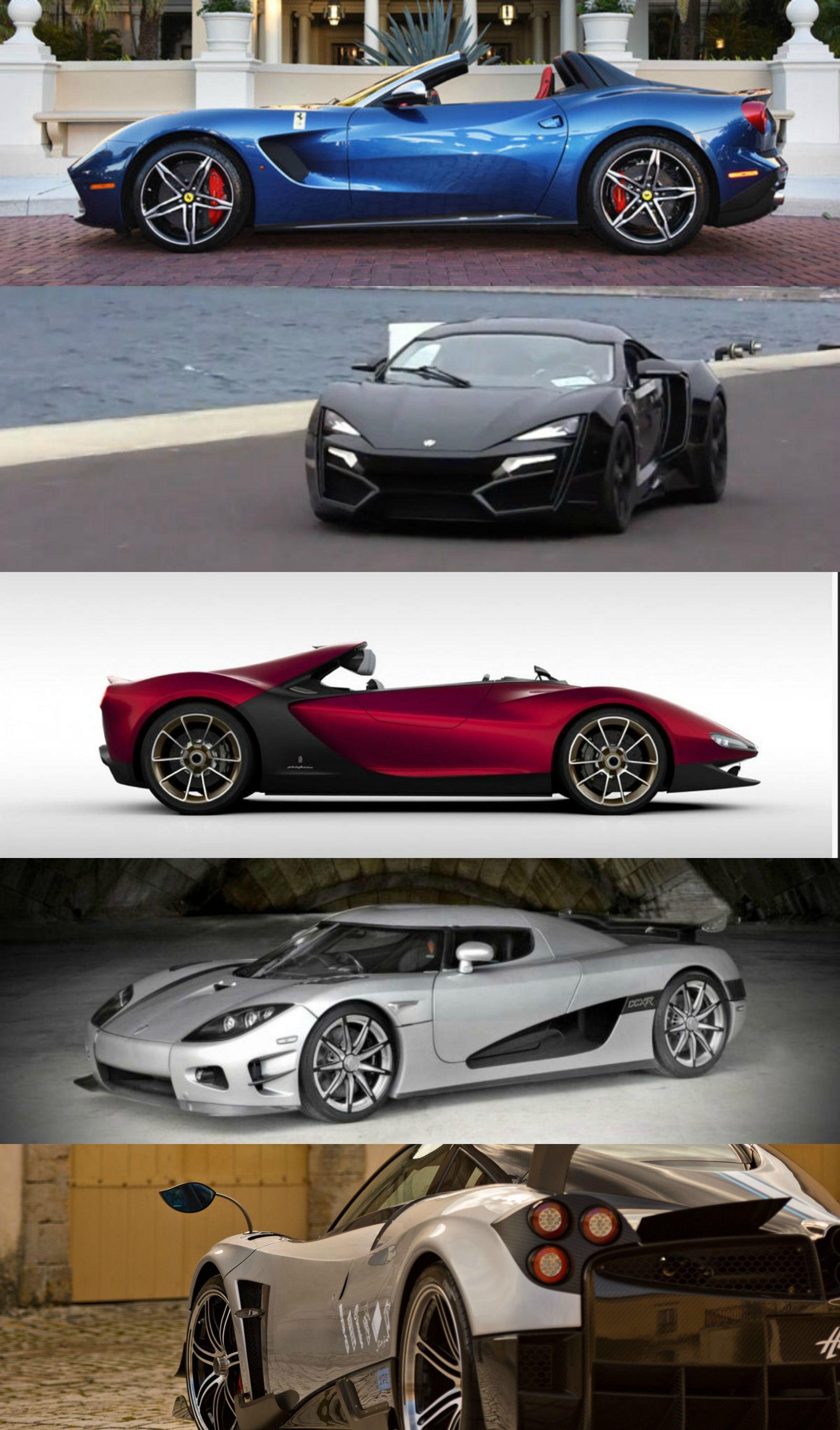 5 Rare Supercars Worth Millions Super Cars Dream Cars Hot Cars