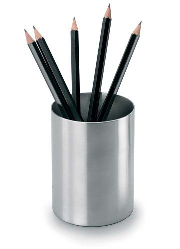 Blomus Stainless Steel Pencil Holder Home Kitchen