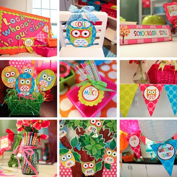ideas for owl stuff, cute blog too!