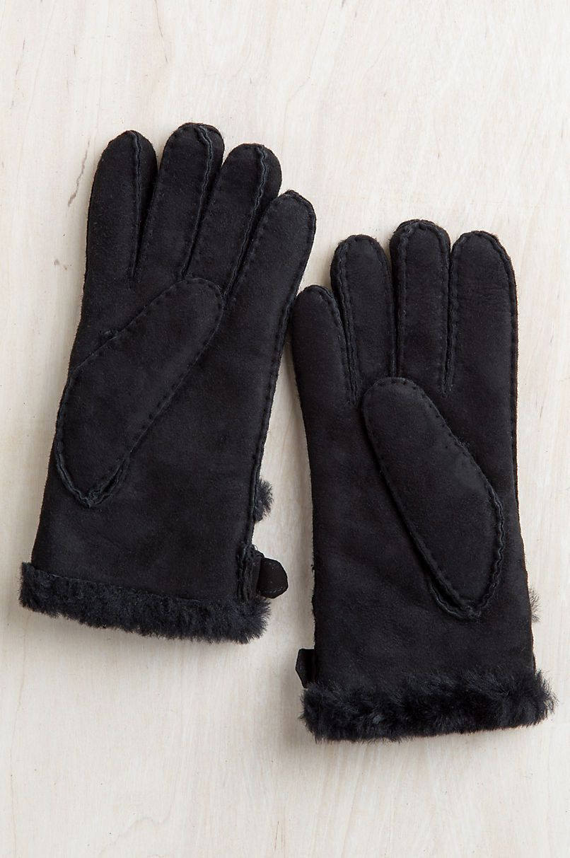 New 2018 Winter Women Warm Fur Gloves Ladies Elegant Genuine Leather Gloves Womens Wool Mittens Outdoor Ski Riding Gloves Durable In Use Women's Gloves