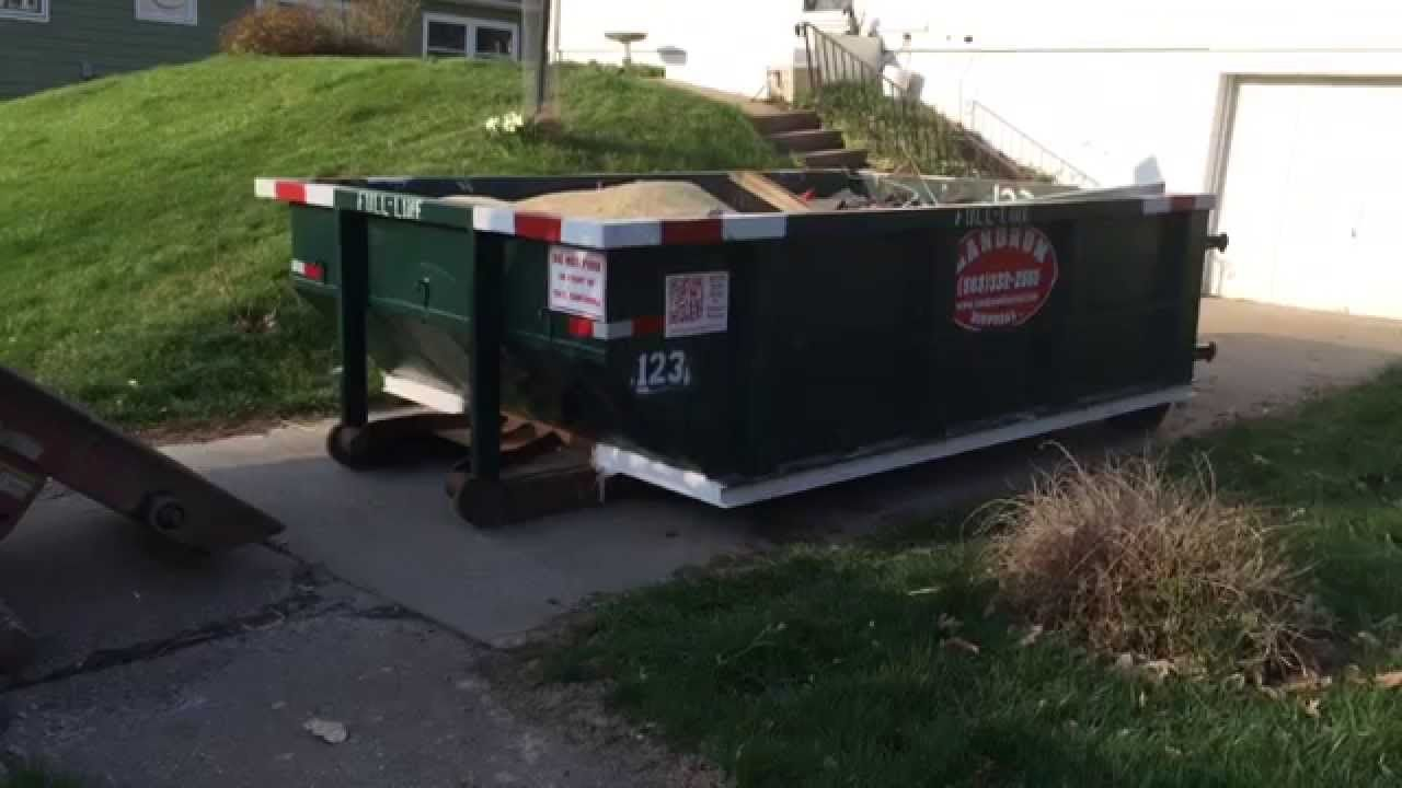 (563) 3322555 Dumpster Rental DavenportHow To Rent Roll