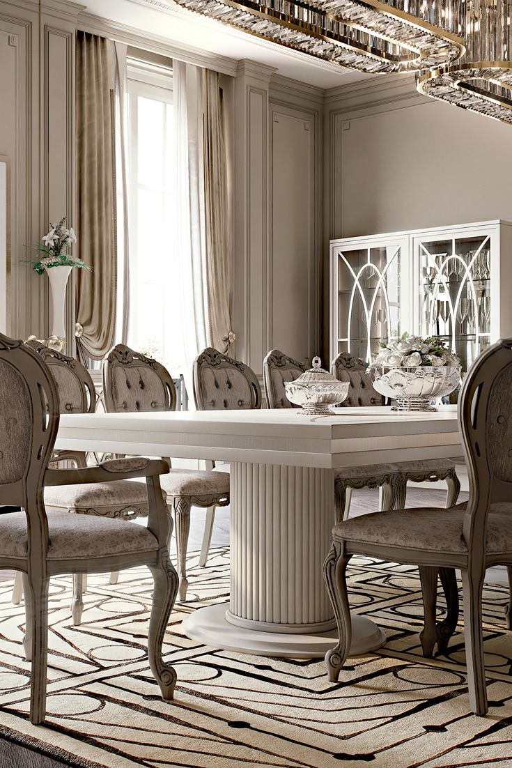 Our Dining Sets Are Made To Order And Perfection Takes Time Discover The Italian Designer High End Table Chair Set At Juliettes Interiors