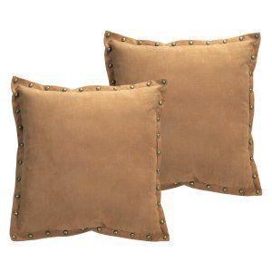 Melrose International Studded Trim Decorative Throw Pillow