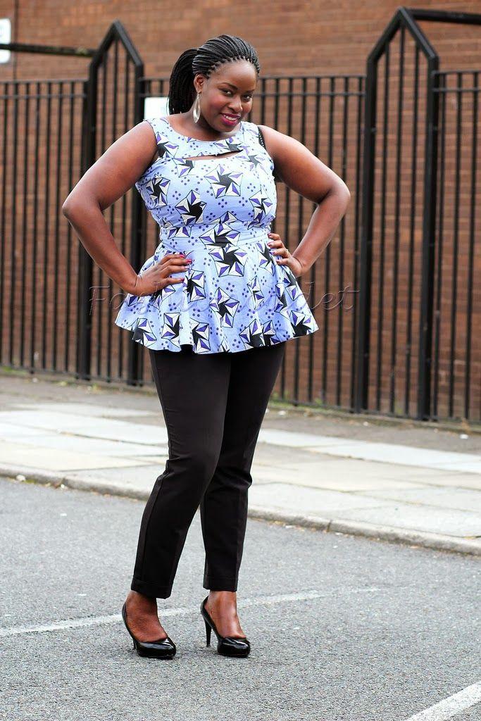 cf6863f2829cd7 Beautiful Ankara Peplum Top ~Latest African Fashion, African Prints, African  fashion styles, African clothing, Nigerian style, Ghanaian fashion, African  ...