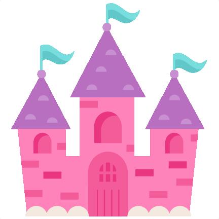 princess castle svg scrapbook cut file cute clipart files for rh pinterest com Princess Castle Coloring disney princess castle clipart