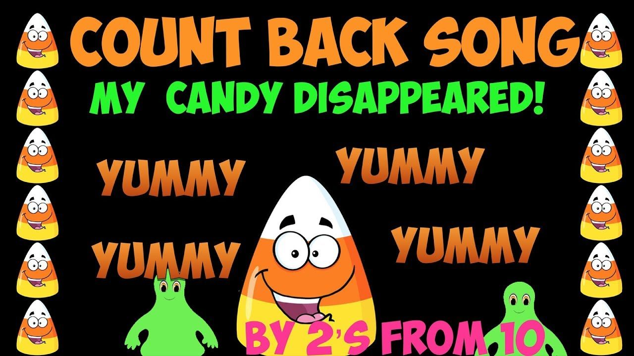 halloween counting back song | math | pinterest | counting, counting