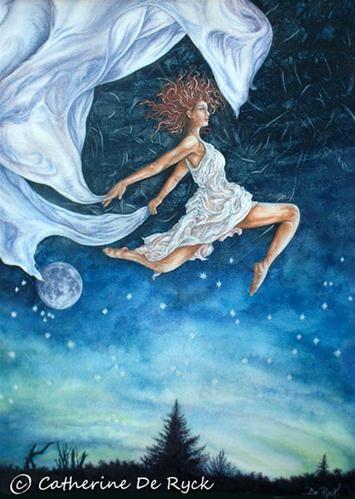 """Aurora"" - Original Fine Art for Sale - © by Catherine De Ryck"