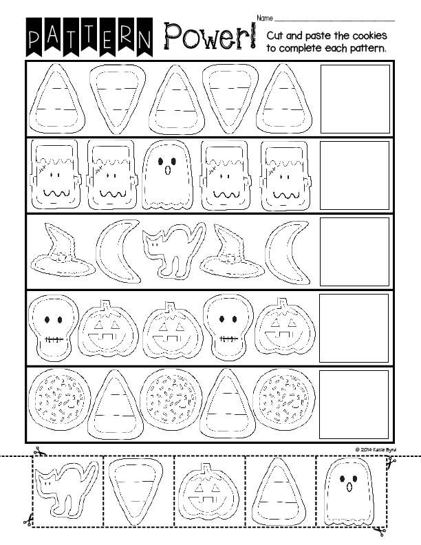 Print and Go! Halloween Math and Literacy (NO PREP)   Halloween math ...