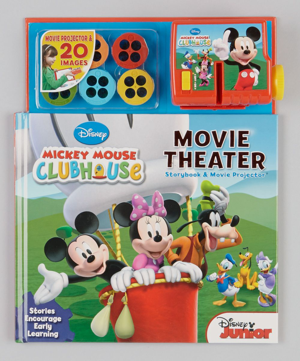 Mickey Mouse Clubhouse Movie Theater Book Projector 14