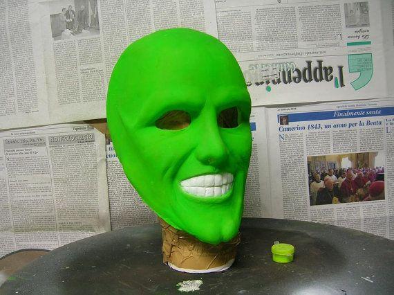 Latex Mask The Mask Jim Carrey Carnival by LaBottegaDelNonSoChe ... cfbc1d3c744c