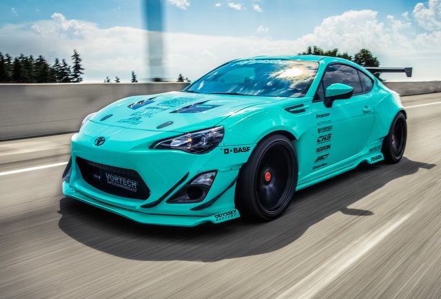 Tiffany Blue Rocket Bunny Toyota GT 86 Scion Frs Subaru ...