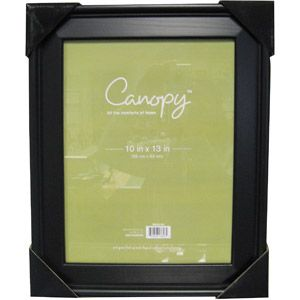 Canopy 10x13 Beveled Picture Frame Black Stairwell Hall