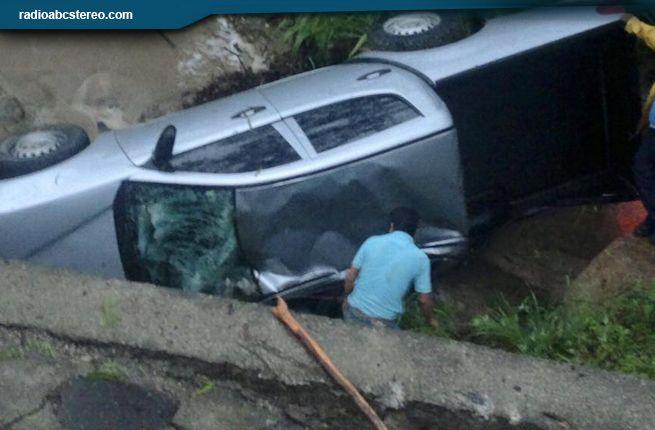 Dos lesionados en accidente de tránsito en Mozonte