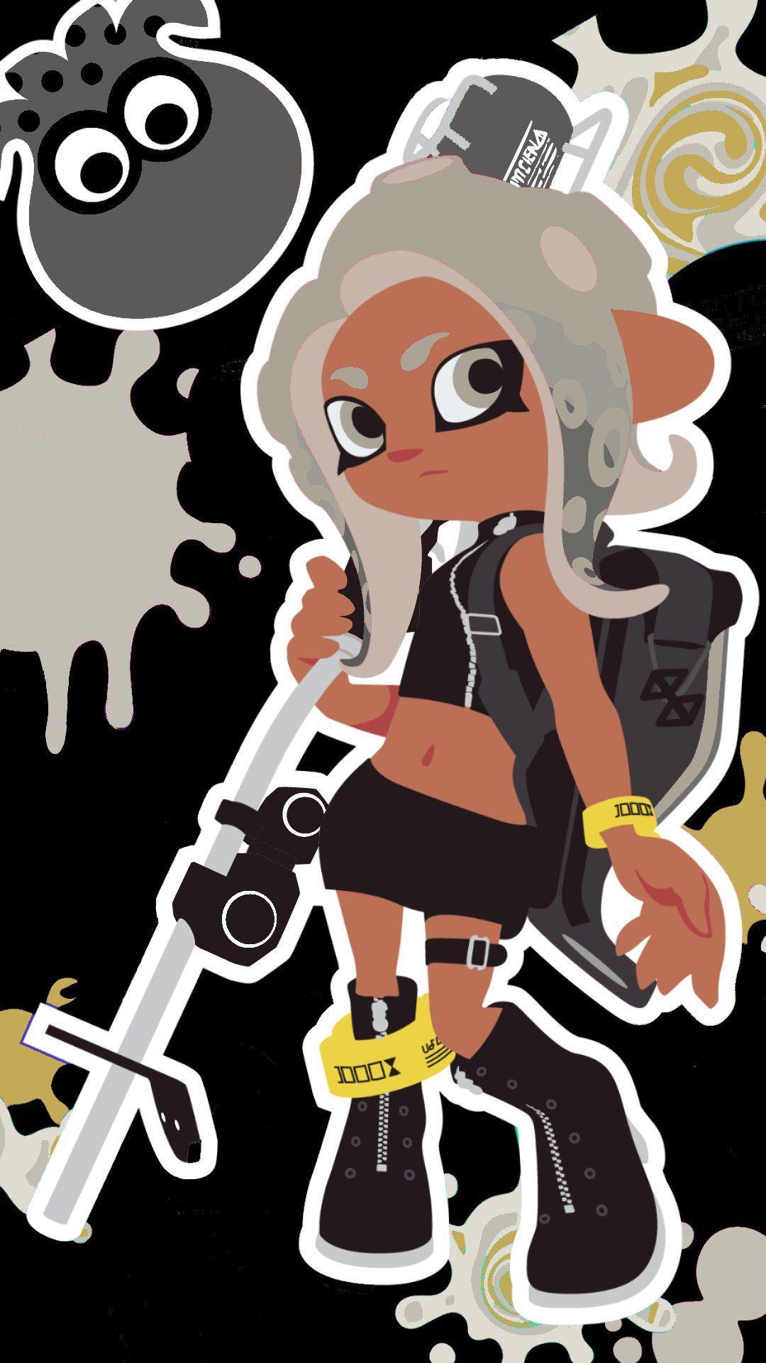 Pin By Nombre Apellido On Splatoon Splatoon Splatoon 2 Art Anime